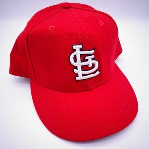 NEW ERA 59Fifty St Louis Cardinals Red Wool Fitted